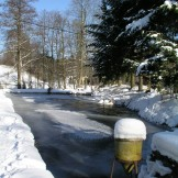 Pstruhařství - Zima